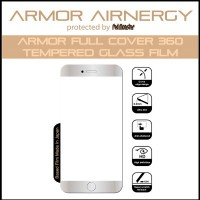 Redmonster [RMAA-IP87-AFCW IPH - 7/8] Armor Full Tempered Glass (White)