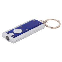 PRS Key Ring With Light -Rectangle Shape (Blue)