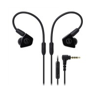 Audio Technica ATH-LS50iS Earphones + Mic (Black)