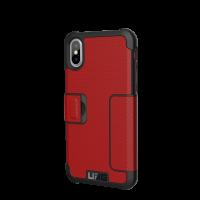 UAG iPhone X Metropolis Case (Magma)