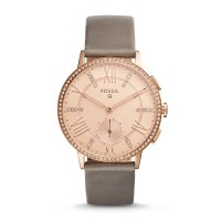Fossil Q FTW1116 Gazer Stainless Steel Hybrid Smart Watch (Rose Gold)