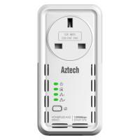 Aztech TWIN Smart Link HomePlug AV2 1200Mbps (HL129EP)