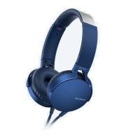 Sony MDR-XB550AP Headphones + Mic (Blue)