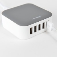 Thecoopidea Powerblock Mini 7.2A Charging Station (Grey)