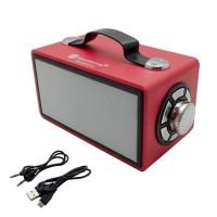 PRS BT97L LED Wireless Speaker (Red)