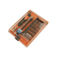 PRS JM-8116 Interchangeable Precise 45 in 1 Manual Tool Kit (Orange)