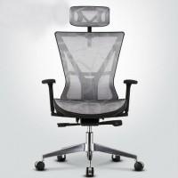 Inkagu M08-3 Mesh Director Chair Grey Mesh
