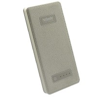 Redmonster RMULM-05-LGLD Ultra Slim Mini 5000mAh Lithium Powerbank (Leather Gold)