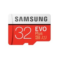 Samsung Micro SD EVO PLUS with Adapter (32GB - 2017 model) [90MB/s Read Speed, 20MB/s Write Speed]