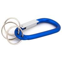 PRS JSH Climbing Button Carabiner (Blue)