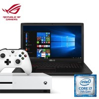 [Xbox Bundle] Asus FX553VD-DM462T Notebook (Intel i7, 8GB RAM, 256 SSD, GTX1050 (2GB) + Xbox One S (Pro Pack)