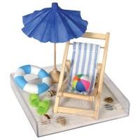 Day At The Beach Miniature Executive Set