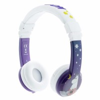 BuddyPhones Moomin Pappa & Mamma Kid Headphones (Purple)
