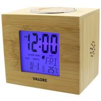 Valore LCD Wooden Clock (LTL13)