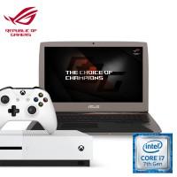 [Pre-Order Xbox Bundle] Asus G701VIK-GB054T ROG Notebook (Intel i7, 32GB RAM, 1TB SSD, GTX1080 (8GB) + Xbox One S (Godlike Pack)