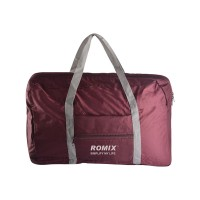 Romix Travel Collapsible Handbag (Red)
