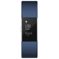 fitbit charge 2 (Blue/Silver) Size L