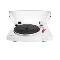 Audio Technica [AT-LP3] Fully Automatic Belt-Drive Stereo Turntable (White)