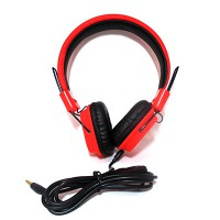 PRS P-HS05 Headset with Mic (Red)
