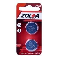 ZOLTA Lithium CR2032 3V (2pcs)