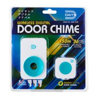 Daiyo DDB 30WT Wireless Door Chime AC (Turquoise)