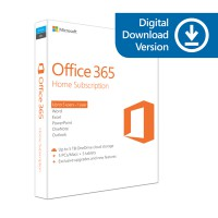 Microsoft Office 365 Home Online for Mac & Windows (1 Year) (6GQ-00093)