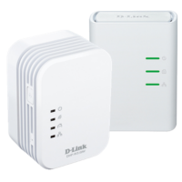 D-Link DHP-W311AV PowerLine AV500 Wireless N Mini Extender Starter Kit