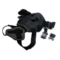 PRS X-49 Dog Harness for GoPro Camera (Black)