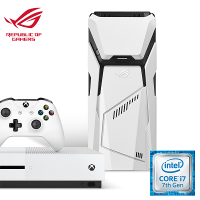 [Xbox Bundle] Asus GD30CI-SG002T ROG Desktop (Intel i7,16GB RAM, 1TB HDD + 256GB SSD GTX1070(8G) + Xbox One S (Pro Pack)