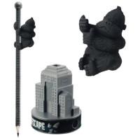 Ape Escape Pencil / Sharpener / Eraser Set