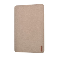 Devia iPad [9.7 inch - 2017] Flax Flip Case (Champagne Gold)