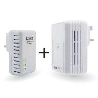 Aztech HL113E + HL113EW 200Mbps Bundle