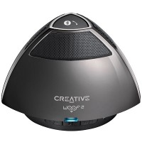 Creative Woof 2 Portable Micro Wireless Speaker (Gun Metal)