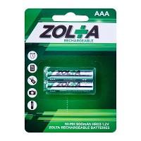 ZOLTA Rechargeable Ni-MH AAA 1.2V 900mAh (2pcs)