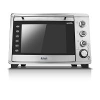 Aztech ACO6638 Silvertone 36L Convection Oven