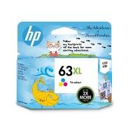 HP 63XL High Yield Tri-color Original Ink Cartridge (1VV37A)