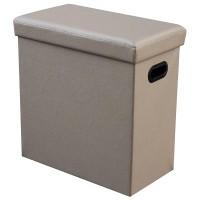Agva Foldable Storage Ottoman Tall (Grey) XYFD