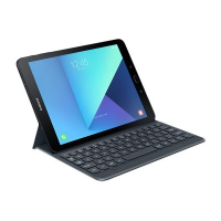 Samsung Tablet S3 [9.7 Inch] Keyboard Case (Silver)