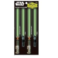 Star Wars Glowing Lightsaber Sticker series - Luke Skywalker/Yoda
