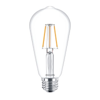 Philips ST64 E27 4-50W WW CL ND APR LED Classic