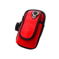 PRS RH-001 Bicycle Arm Bag For Mobile Phone (Red)