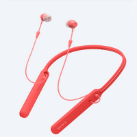 Sony WI-C400 Bluetooth Neckband Earphones (Red)