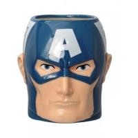 Monogram Ceramic Mug (Captain America)