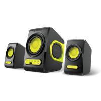 SonicGear Quatro V Speaker (B. Lime Green)