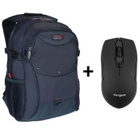 [Bundle] Targus TSB227AP-70 [15.6 inch]  Element Backpack + W575 Wireless Mouse