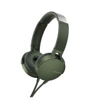 Sony MDR-XB550AP Headphones + Mic (Green)