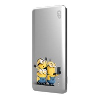 GP 5000mAh Powerbank Casing with Minions (Silver)