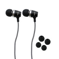 IPIPOO B70hi Wired Earphone With Mic (Black)