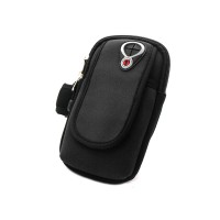 PRS RH-001 Bicycle Arm Bag For Mobile Phone (Black)