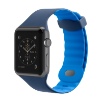 Belkin Sports Apple Watch 42MM Wristband (Marina Blue)